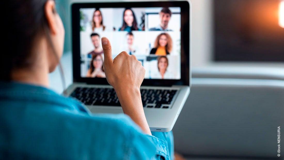 Online-Konferenz vorbereiten