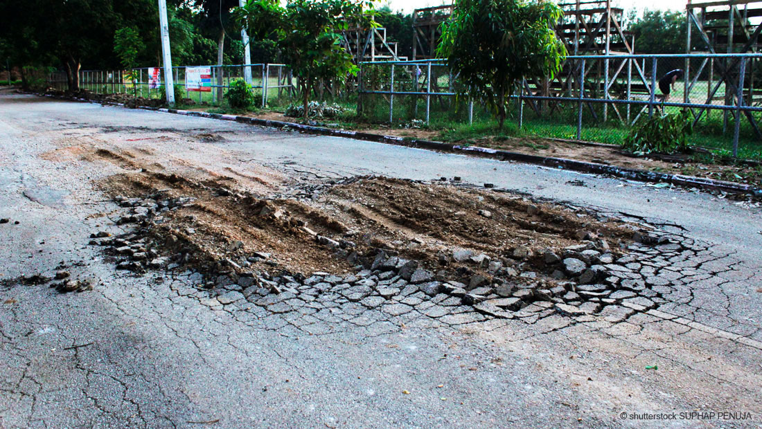 Sanierung von Flächen