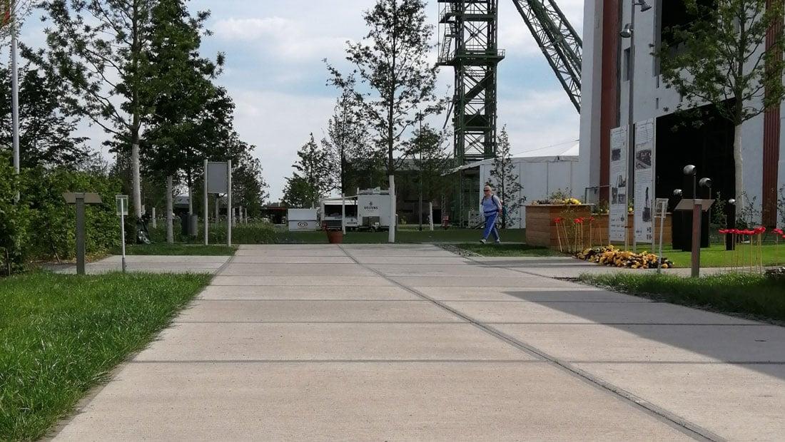 Freianlagen Ausstellungsachse Landesgartenschau 2019