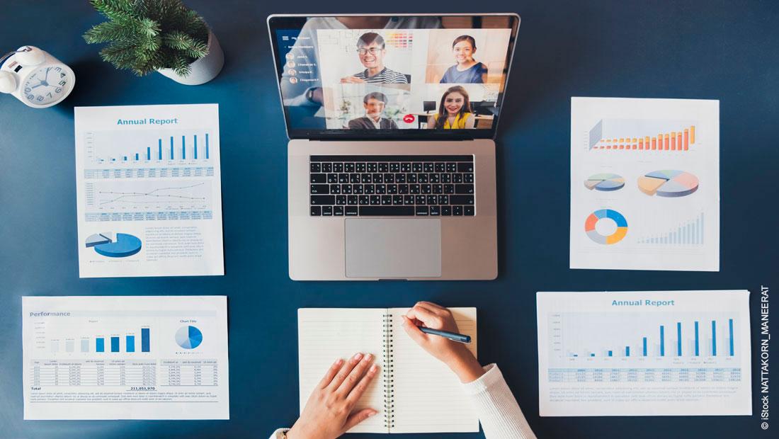 Online-Meetings richtig planen und vorbereiten - So geht's!