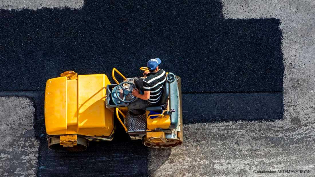 Welche Möglichkeiten zur Befestigung von Verkehrs- und Industrieflächen gibt es?