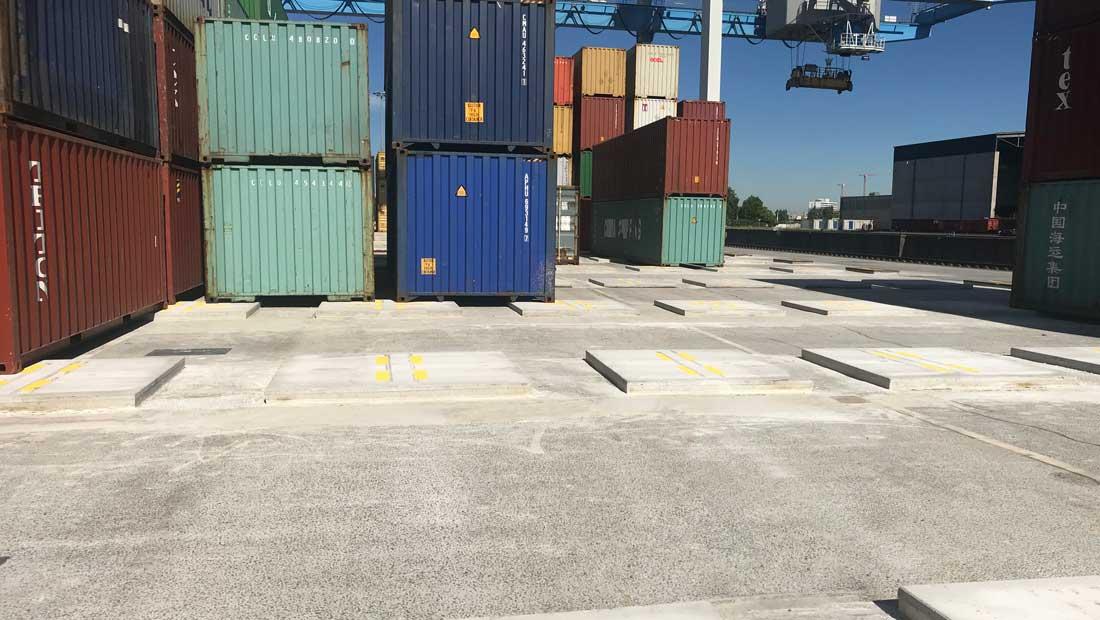 GROUND ULTRA | Containerplatzerweiterung Lausward Düsseldorf