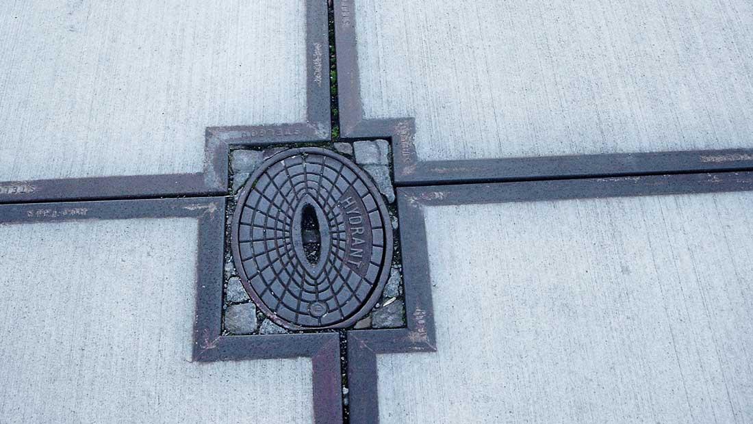 Optisch anspruchsvolle Umgestaltung von Hafenflächen