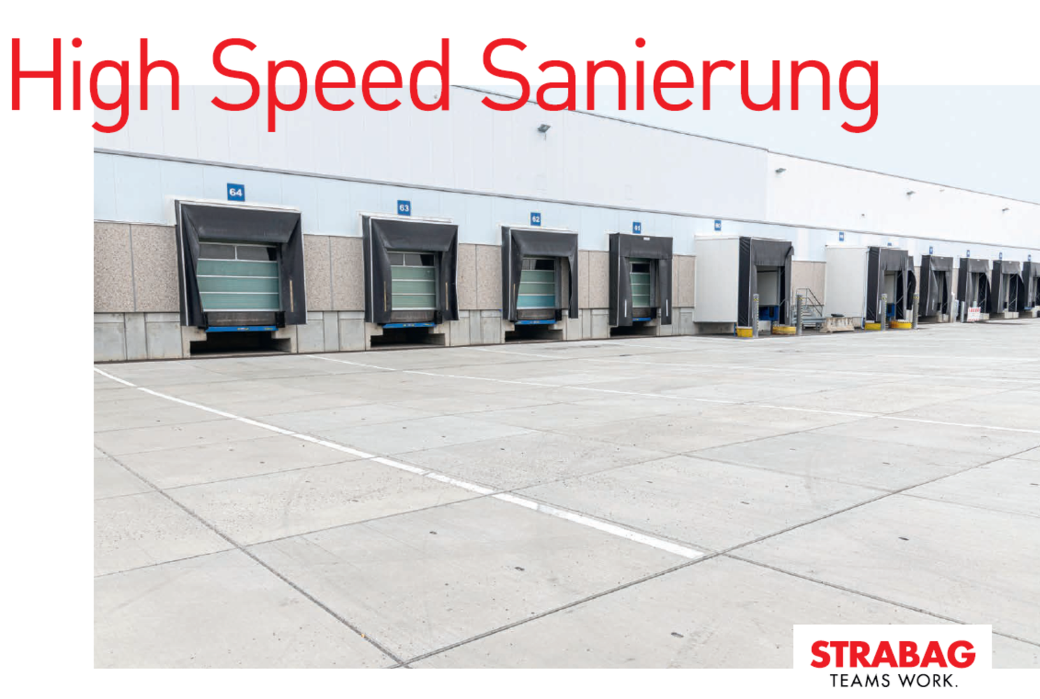 HIGH SPEED SANIERUNG